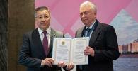 Советский, казахстанский и российский государственный деятель Олег Сосковец стал послом Ассамблеи народа Казахстана