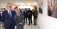Президент Казахстана Касым-Жомарт Токаев посетил новый офис ООН в Алматы