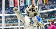 Талисман чемпионата мира по хоккею в первом дивизионе