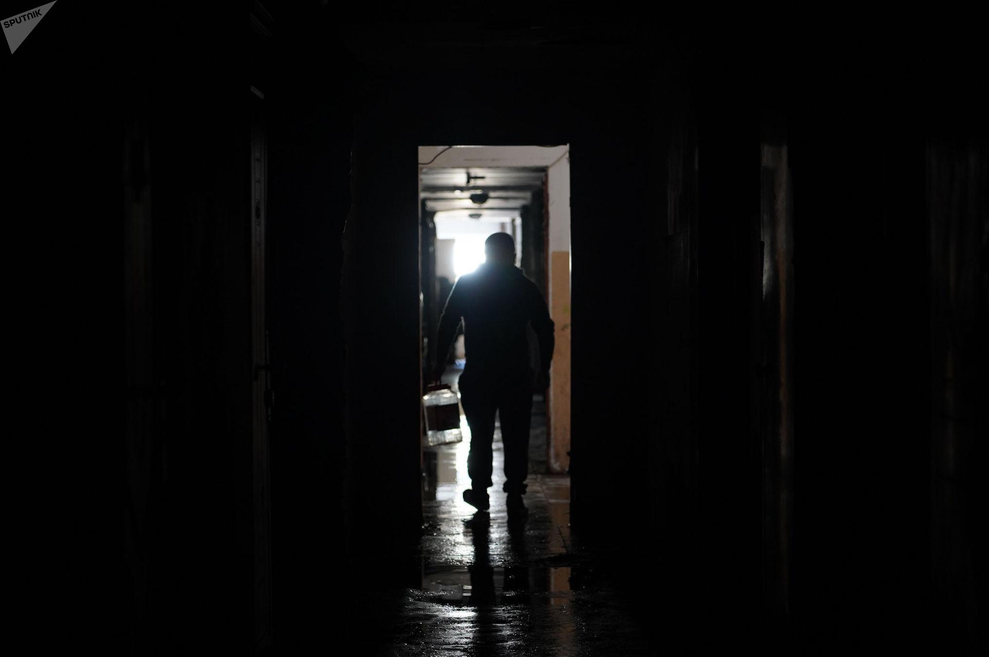 Пожар в одном из общежитий в Нур-Султане