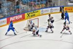 Матч сборных Кореи и Казахстана на чемпионате мира по хоккею первого дивизиона