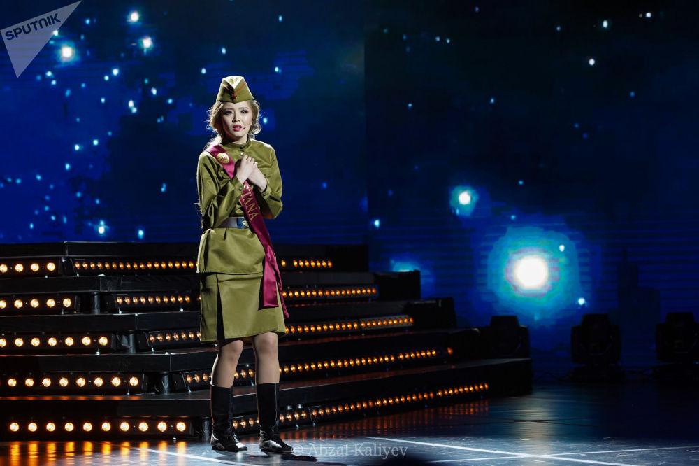 Финалистка конкурса Мисс Казахстан