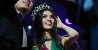 Победительница конкурса красоты Мисс Казахстан-2019 Мадина Батык
