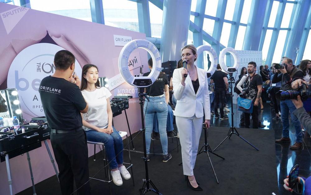 Перед началом конкурса Мисс Казахстан