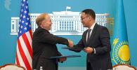 Замминистра иностранных дел Казахстана Ержан Ашикбаев и посол США в Республике Уильям Мозер подписали межправительственное соглашение о консульских привилегиях и иммунитетах
