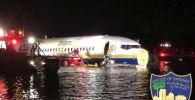 Боинг 737 приводнился в Джексонвилле