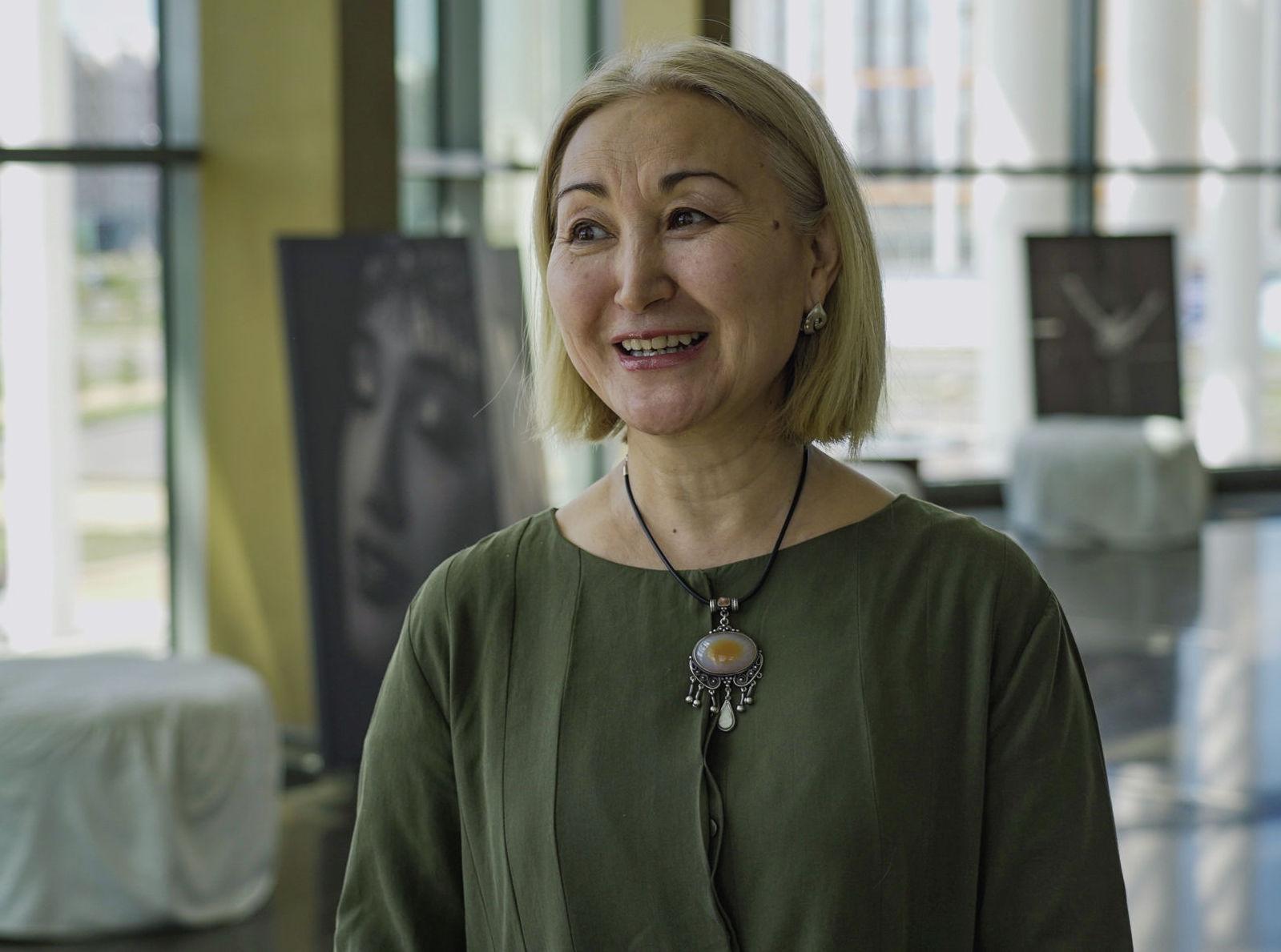 Балетмейстер-постановщик театра Astana Ballet Айгуль Тати