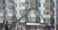 В Петропавловске из-за детской шалости загорелась квартира в пятиэтажном доме