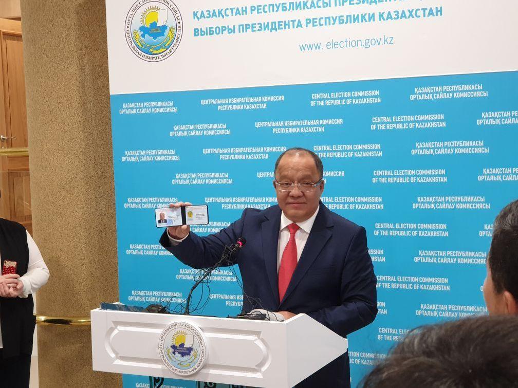 Президенттікке кандидат Төлеутай Рақымбеков