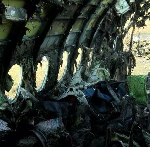 Аэрофлот компаниясының  өртке оранған Sukhoi Superjet-100 ұшағы