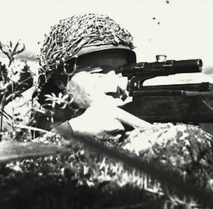 Снайпер Тулеугали Абдыбеков
