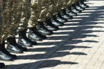 Военнослужащие, архивное фото