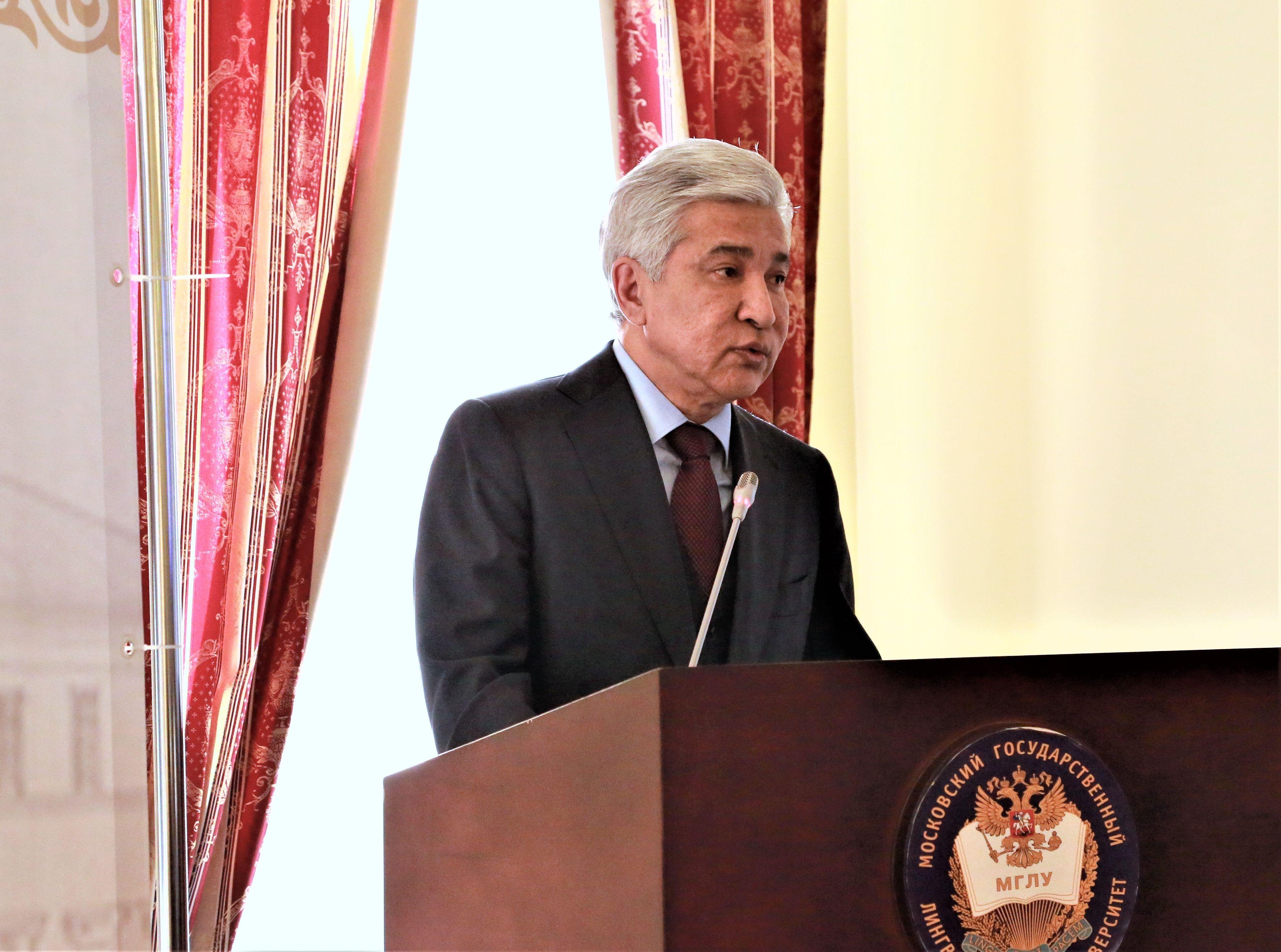 Посол Казахстана в России Имангали Тасмагамбетов