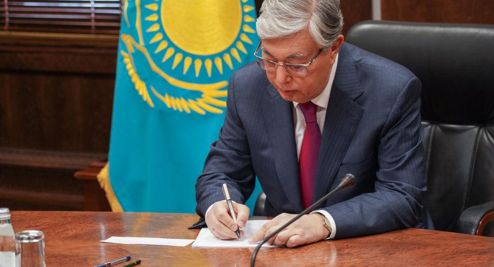 Қасым-Жомарт Тоқаев ОСК-ға құжат тапсырды