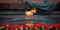 Возложение цветов к могиле Незивестного солдата