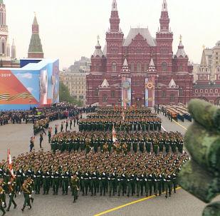 Парад на Красной площади: 74-я годовщина Победы