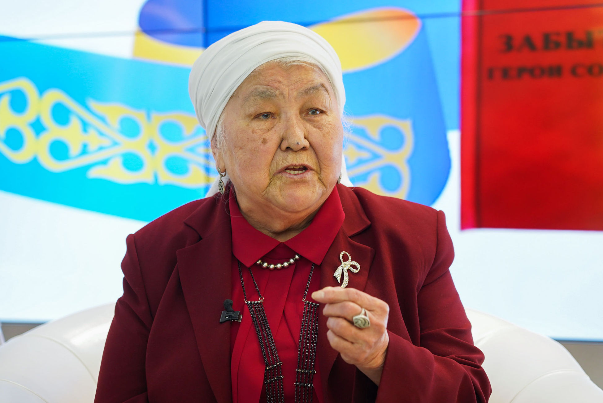 Рымжан Мусабеккызы - двоюродная сестра Халык Каhарманы Рахимжана Кошкарбаева