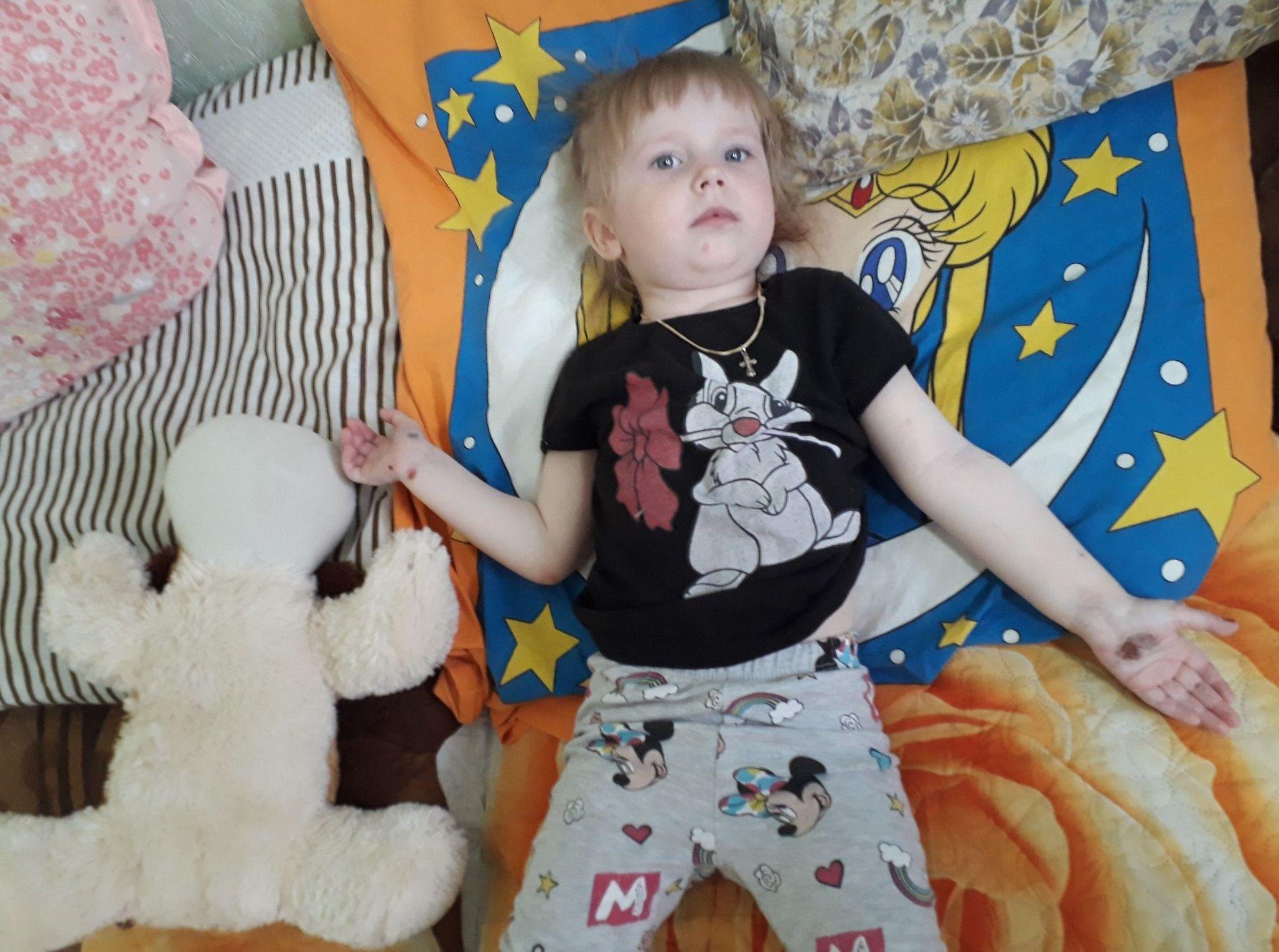 Милена Седченко - единственная в СКО девочка-бабочка