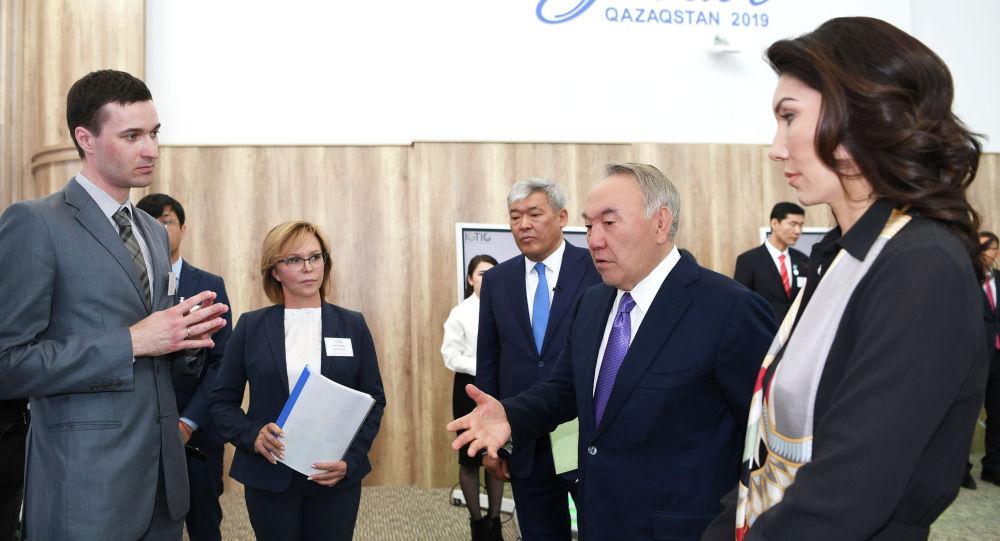 Елбасы Нұрсұлтан Назарбаев Жасыл технологиялар мен инвестициялық жобалардың халықаралық орталығына барды