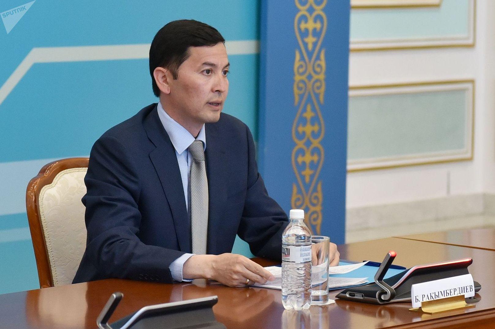 Начальник департамента КНБ Бахытбек Рахымбердиев