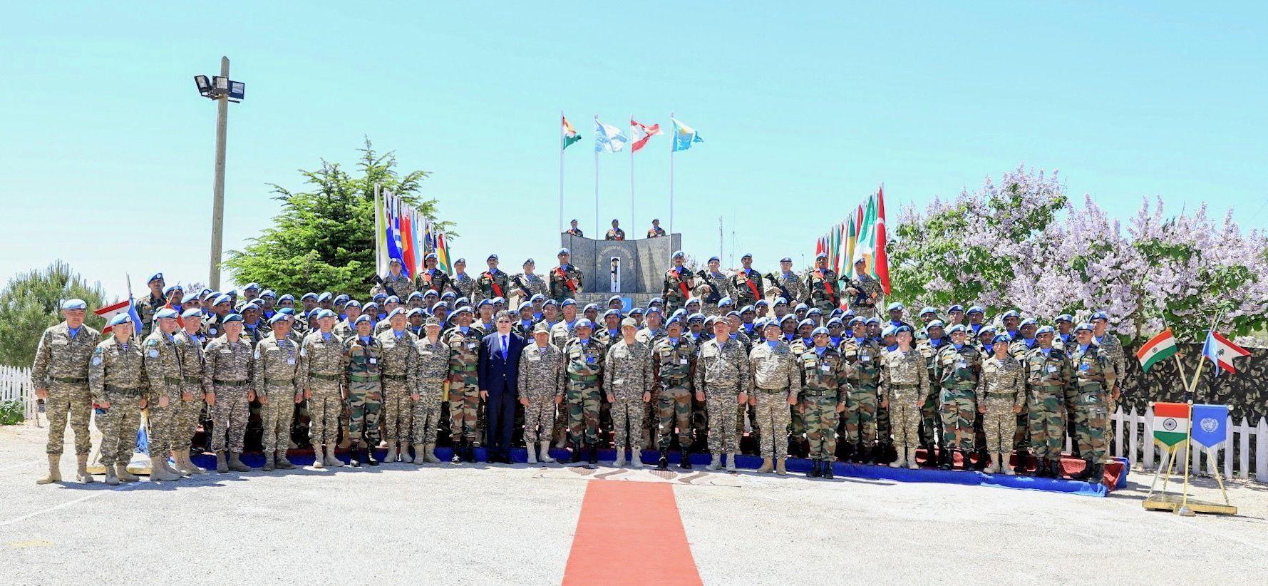 Министр обороны Казахстана посетил зону ответственности миротворческого батальона ИндКазбат