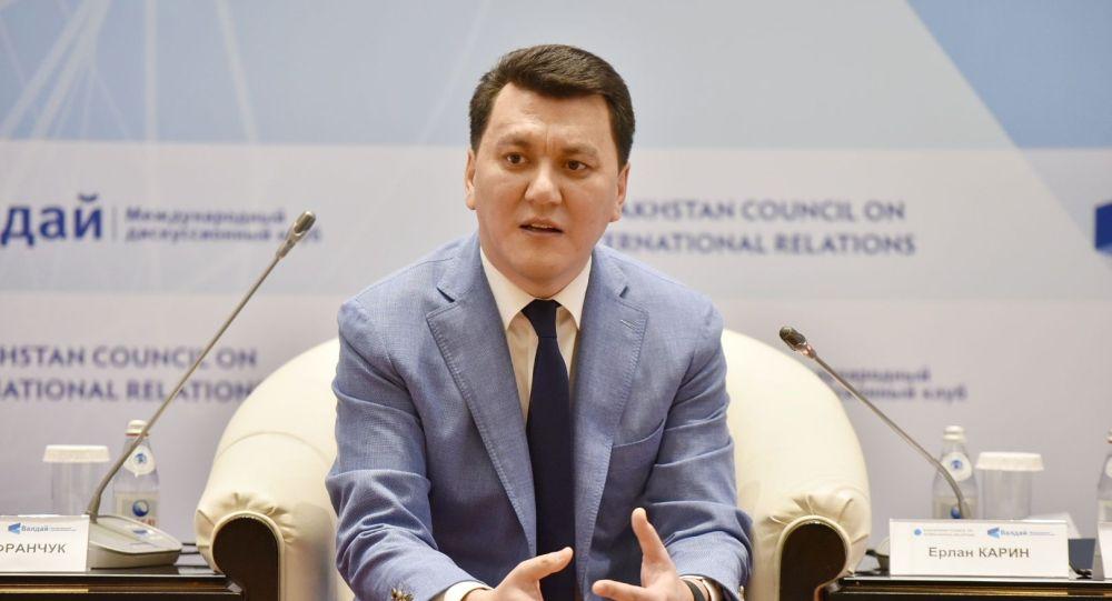 Советник президента Казахстана, председатель Казахстанского совета по международным отношениям Ерлан Карин