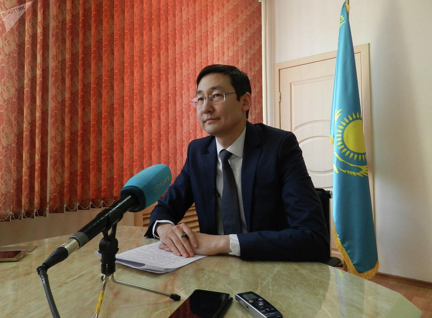 Руководитель управления здравоохранения Северо-Казахстанской области Тимур Султангазиев