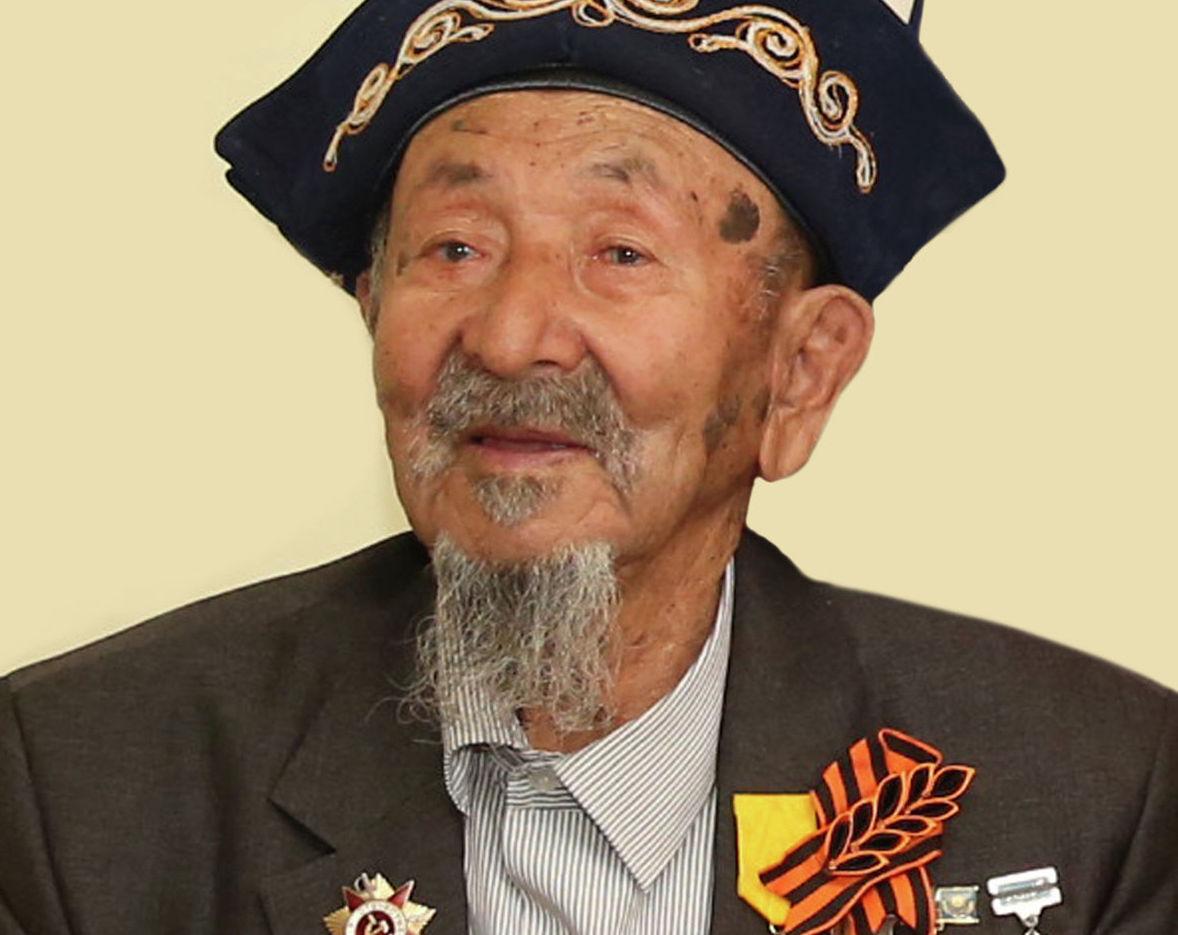 Почетный гражданин Байконура, ветеран Великой Отечественной войны Калмырза Жарманов