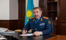 Ерлан Заманбекович Тургумбаев, министр внутренних дел Республики Казахстан