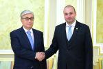 Президент Казахстана Касым-Жомарт Токаев принял премьер-министра Грузии Мамуку Бахтадзе
