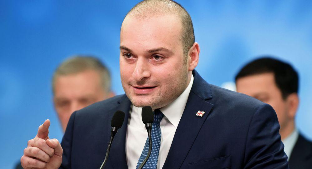 Грузияның премьер-министрі Мамука Бахтадзе, архивтегі сурет