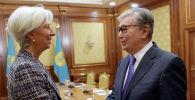 Президент Казахстана Касым-Жомарт Токаев провел встречу с исполнительным директором МВФ Кристин Лагард