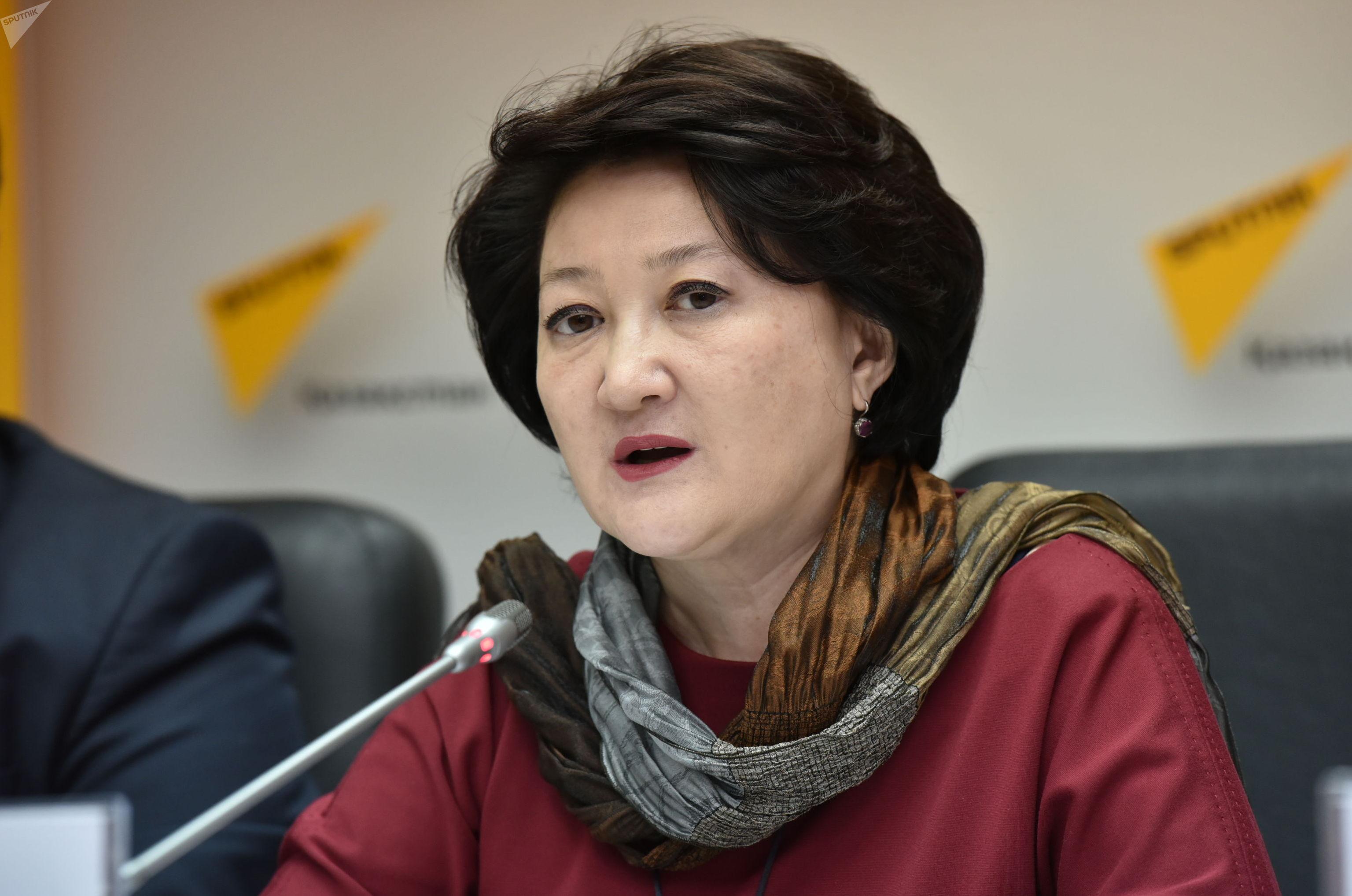 Вице-министр культуры и спорта Казахстана Актоты Раимкулова
