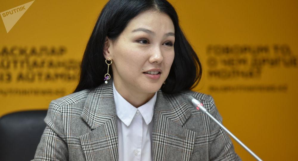 Казахстанская актриса Аружан Джазильбекова