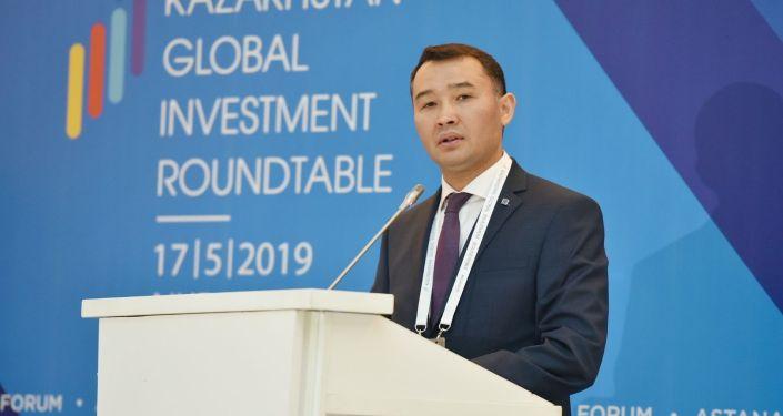 Председатель правления Kazakh Invest Сапарбек Туякбаев на форуме Kazakhstan Global Investment Roundtable