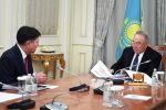 Нұрсұлтан Назарбаев Жоғарғы сот төрағасы Жақып Асановты қабылдады