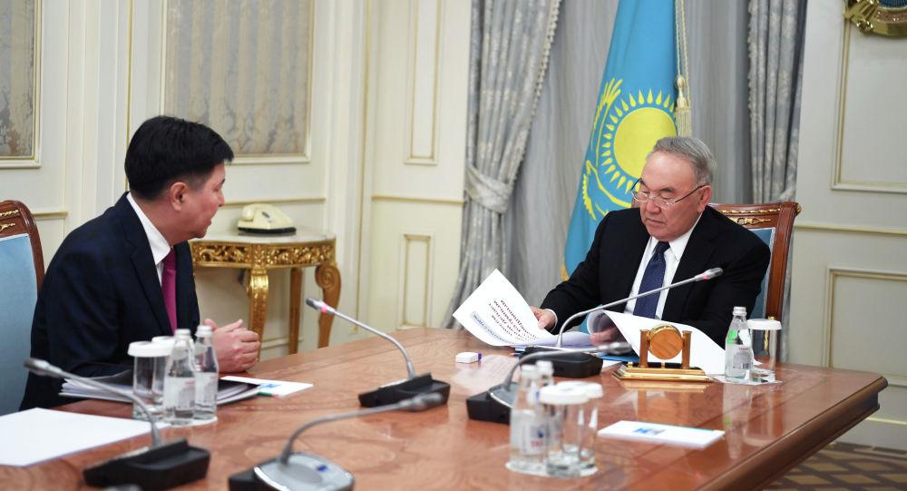 Первый Президент Казахстана принял председателя Верховного суда Жакипа Асанова