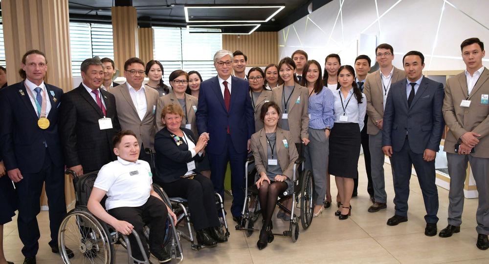Президент Казахстана Касым-Жомарт Токаев встретился с казахстанскими паралимпийцами