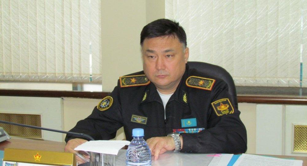 Начальник Главного управления военной полиции ВС РК генерал-майор юстиции Тимур Дандыбаев