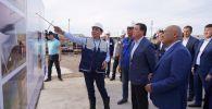 Премьер-министр Казахстана Аскар Мамин с рабочей поездкой в Туркестанской области