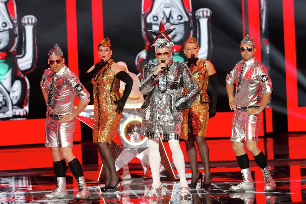 Верка Сердючка выступила в Гранд-финале Евровидения 2019