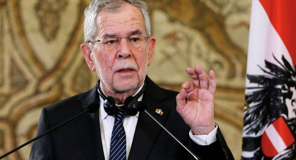 Федеральный президент Австрии Александер Ван дер Беллен