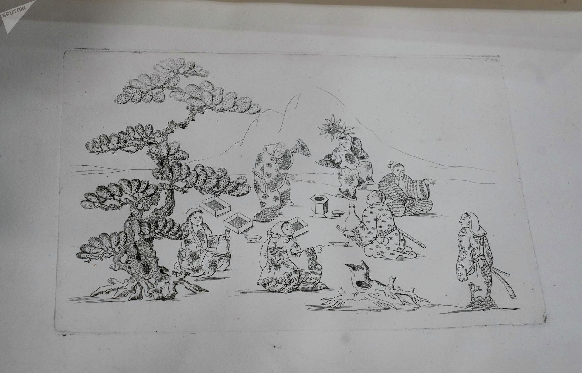 Книга китайских замыслов содержит иллюстрации и карты