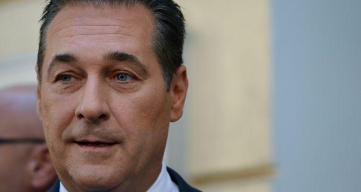 Вице-канцлер Австрии Ханс-Кристиан Штрахе