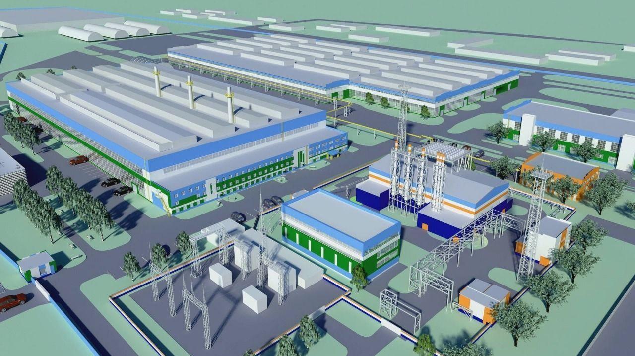 Қазақстан-Қытай индустриялық паркінің сызбасы