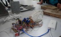 Протез руки, который разработал студент ИнЕУ Елдос Сабит