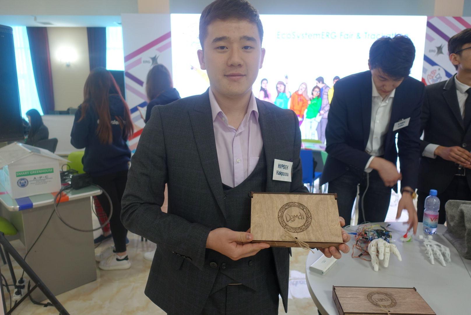 Нурбек Кайролла запустил проект по продаже национальных сладостей