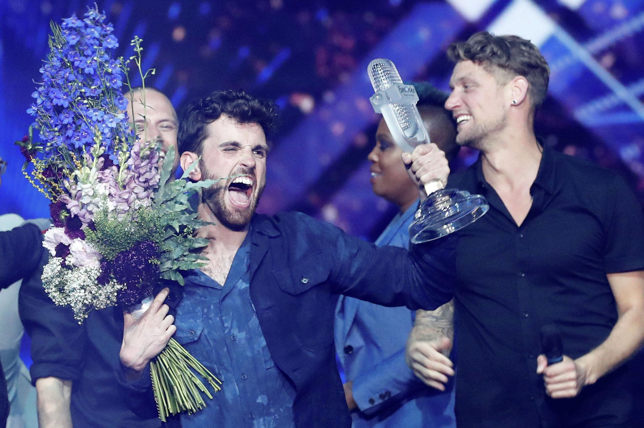 Солист из Нидерландов Дункан Лоуренс, победивший на конкурсе Евровидение 2019