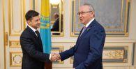 Вице-спикер сената парламента РК Бектас Бекназаров принял участие в инаугурации президента Украины Владимира Зеленского