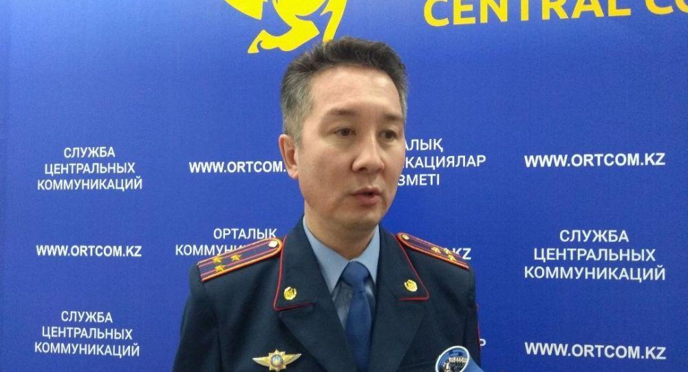 Замначальника департамента  по противодействию наркопреступности МВД Казахстана Нуртай Абильмажинов